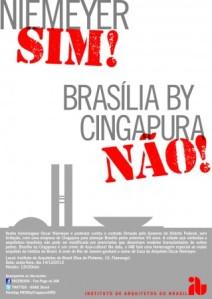 Brasília by Cingapura, NÃO!