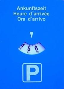 Disco de estacionamento