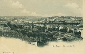 1900 - Antigo Viaduto do Chá