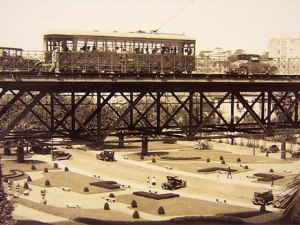 1925 - Antigo Viaduto do Chá