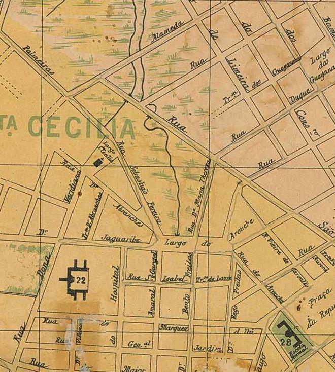 Região da Frederico Steidel - 1895
