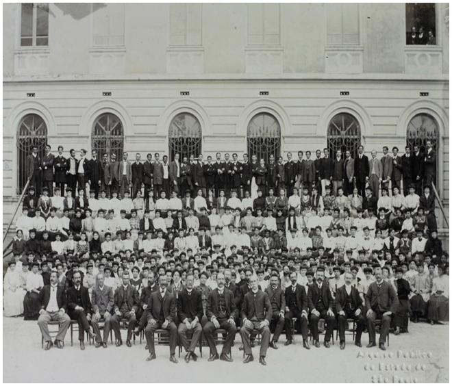 Escola Normal de São Paulo       Inauguração - 1894