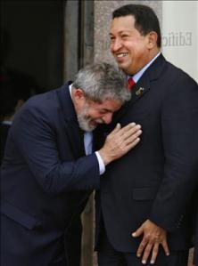 Lula e Chavez