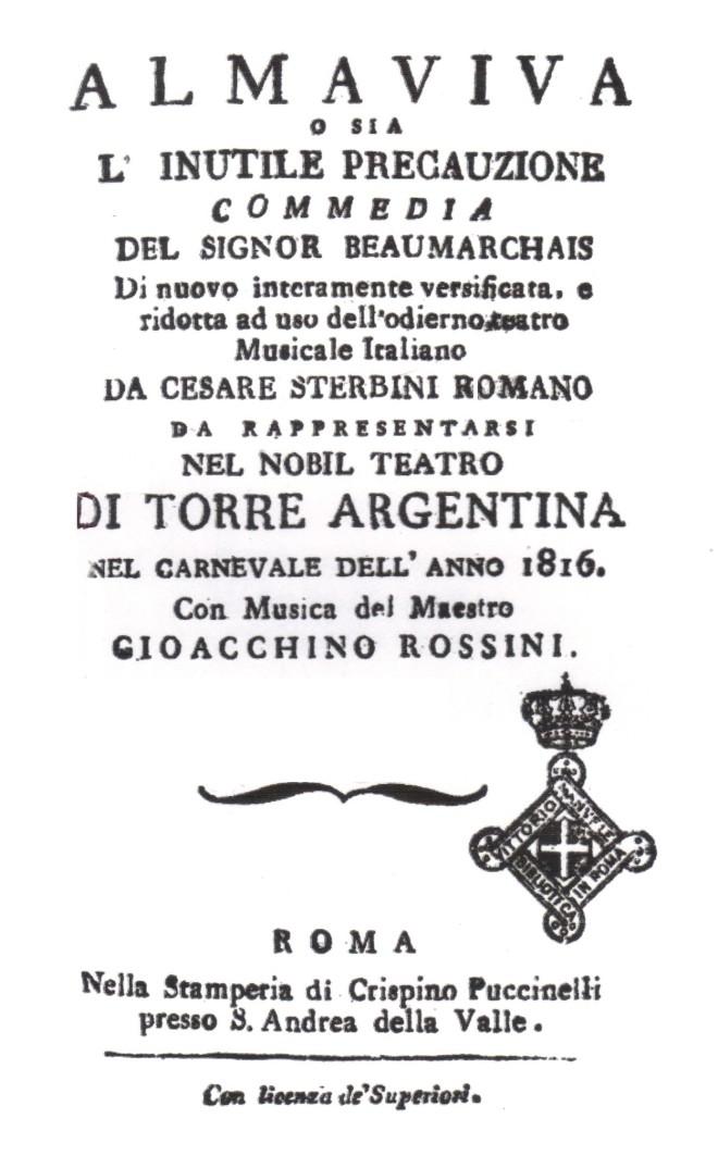 Barbiere di Siviglia libretto