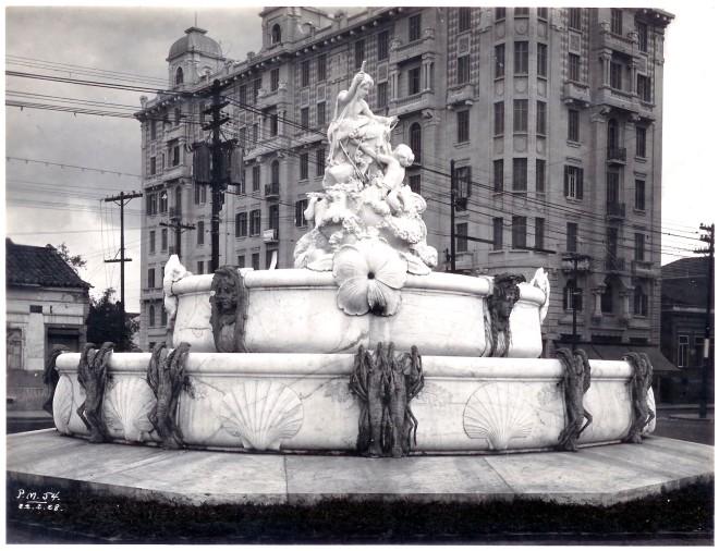 A Fonte Monumental em 1928 Acervo do Arquivo Histórico de São Paulo/
