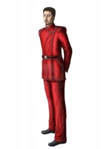 Uniforme vermelho