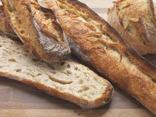 Pão crocante