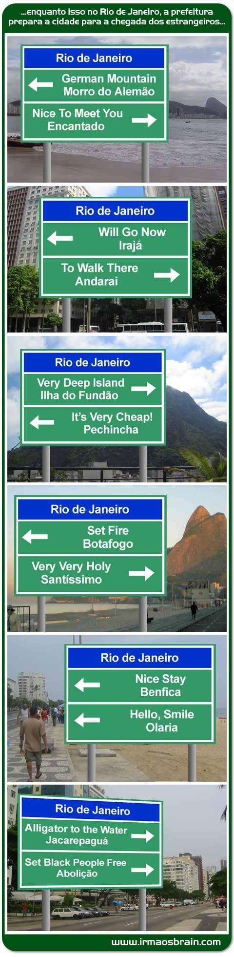 Rio de Janeiro preparado para a Copa Crédito: irmaosbrain.com