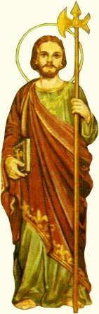 São Judas Tadeu Padroeiro das causas perdidas