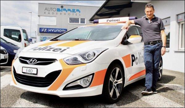 Falsa viatura policial