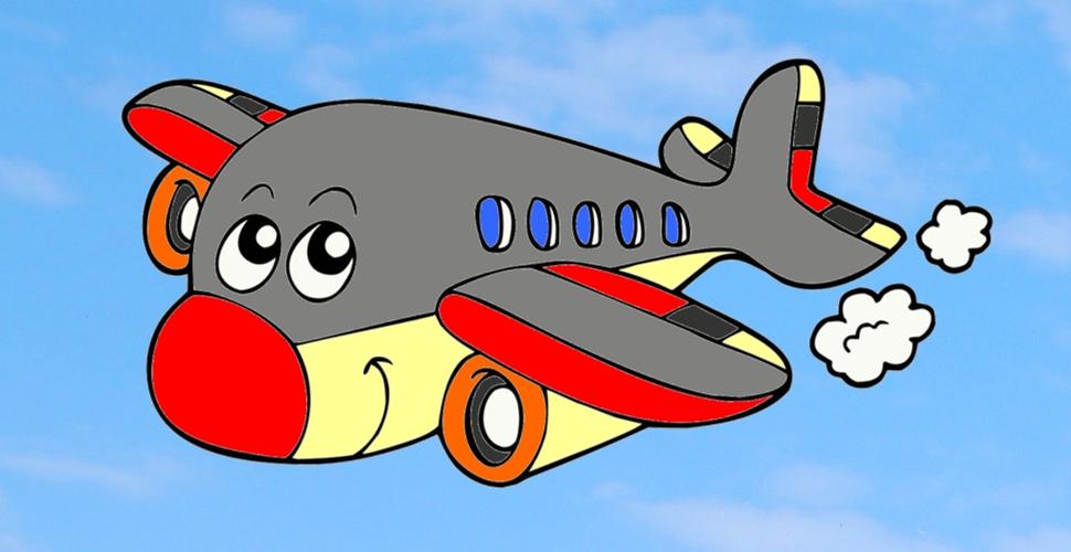 Avião da alegria