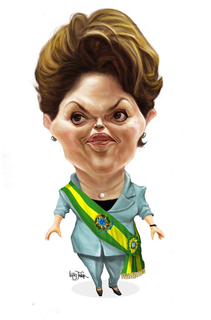 Dilma Rousseff por Lezio Jr.