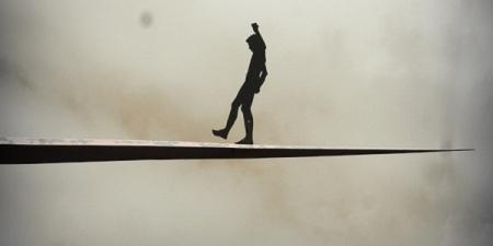 Equilíbrio na corda bamba