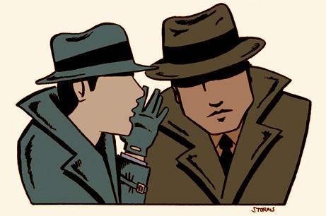 Espionagem Crédito: Storms