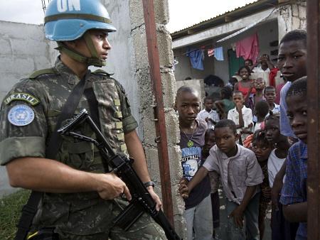 Minustah Missão de estabilização no Haiti