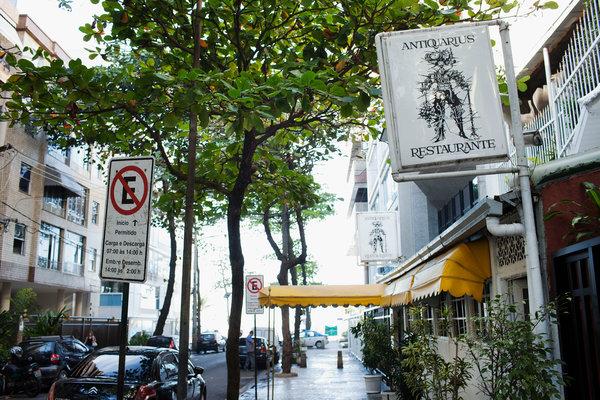 Restaurante Antiquarius, Rio de Janeiro by Lalo de Almeida, NYT
