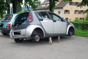 Carro sem rodas Neuchâtel, Suíça