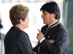 Dilma e Evo
