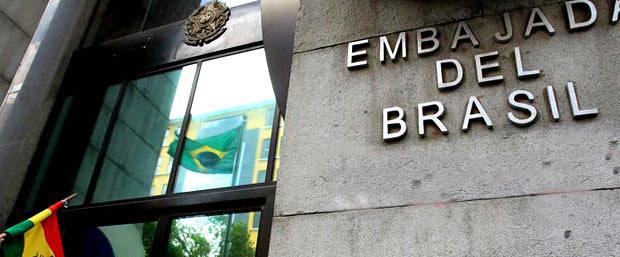 Embaixada do Brasil La Paz, Bolívia