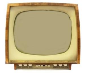 Televisor com imagem adequada