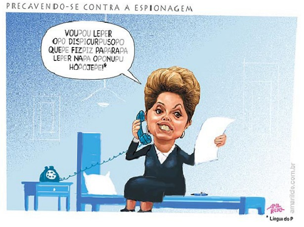 O discurso de dona Dilma by Amarildo Lima