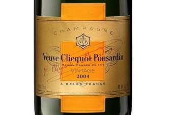 Veuve Clicquot Ponsardin Millésime 2004