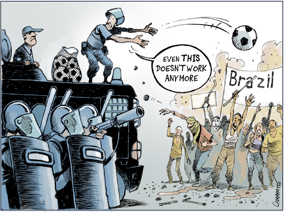 Nem mesmo isto funciona mais! by Patrick Chappatte, cartunista suíço