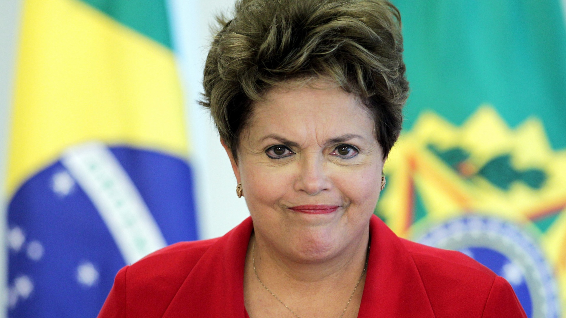 Dilma enfezada