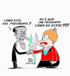 Dilma e Obama by Sponholz