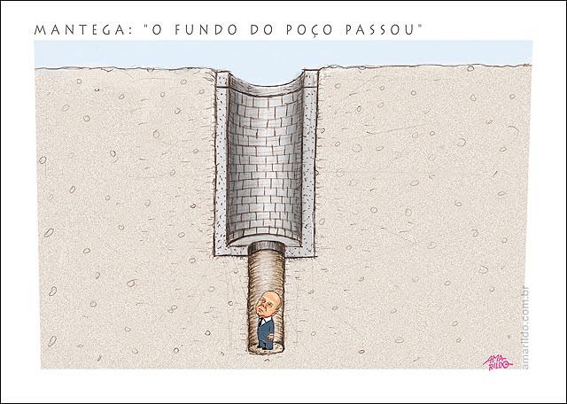 Mantega e o fundo do poço by Amarildo