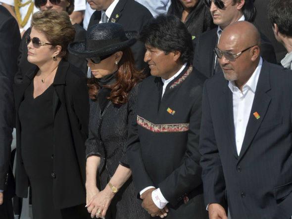 Dilma, Cristina, Evo e Bouterse