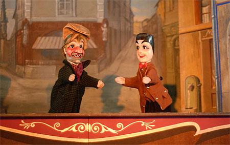 Teatrinho de marionete