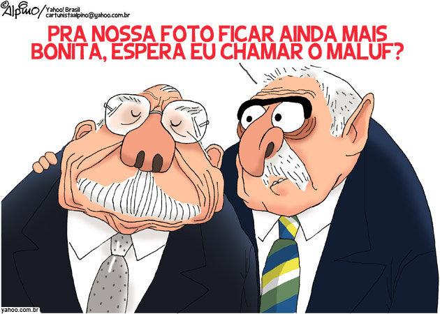 Homenagem ao Lula vista por Alberto Alpino, cartunista capixaba