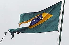 Bandeira Brasil rasgada 2