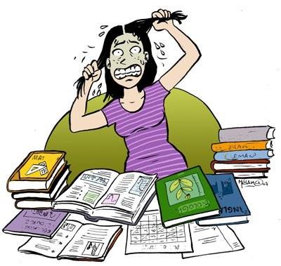Preparando o exame
