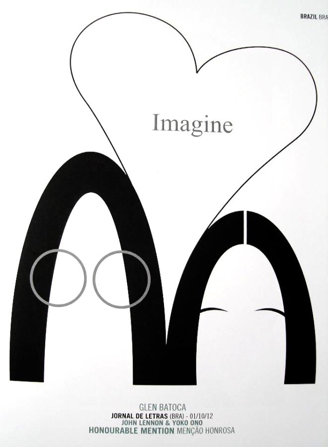 John Lennon & Yoko Ono vistos por Glen Batoca