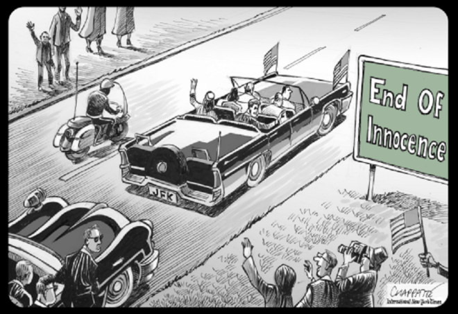 22 nov° 1963 by Patrick Chappatte, desenhista suíço