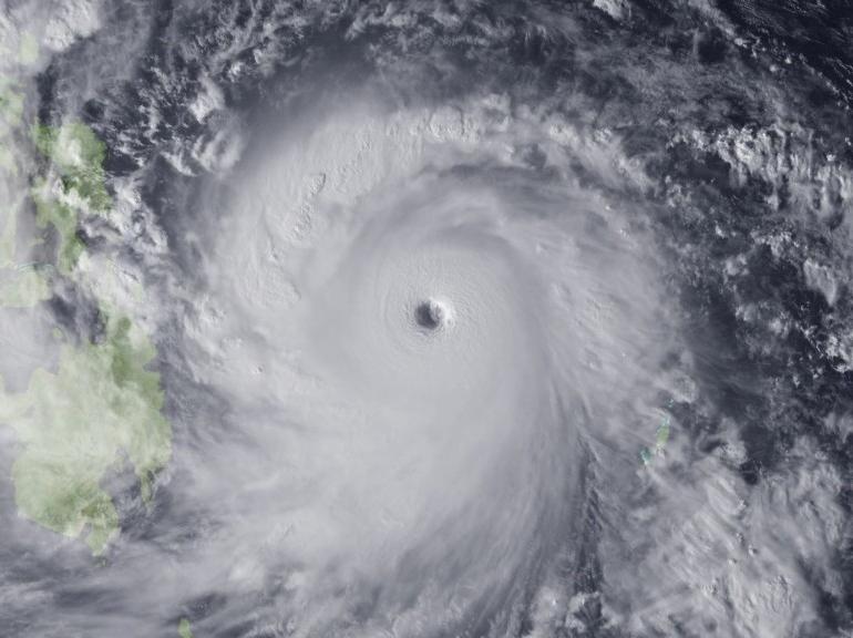 Tufão Yolanda, nov° 2013