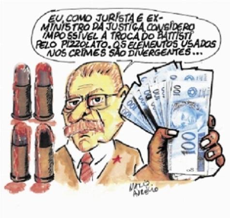 Tarso Genro, governador do RS by Marco Aurélio, desenhista gaúcho
