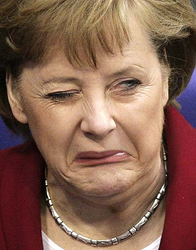 Frau Angela Merkel
