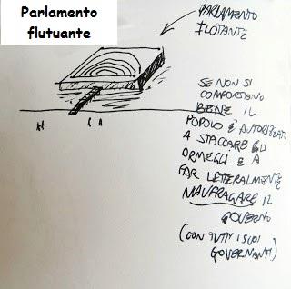 Parlamento flutuante by Massimo Pietrobon