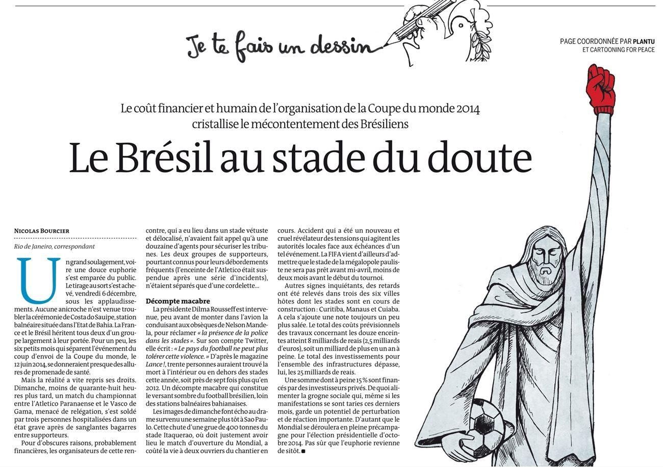 Le Monde ― 12 dez° 2013 O texto