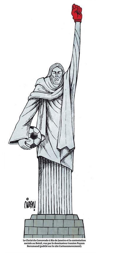 Le Monde ― 12 dez° 2013 by Payam Borumand, desenhista iraniano
