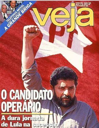 Lula de punho em riste ― 1989