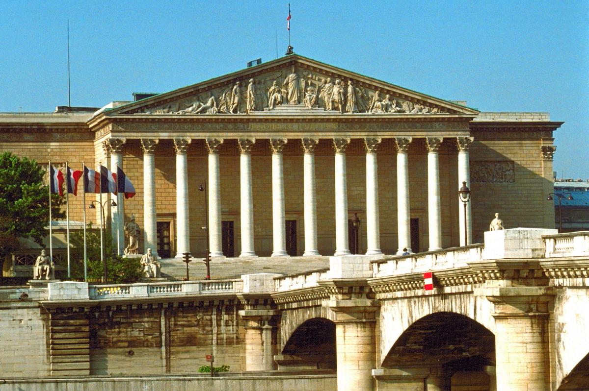 Assembleia nacional francesa — a fachada