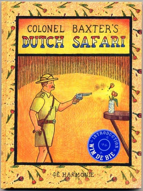 Safári holandês by Glen Baxter, desenhista inglês