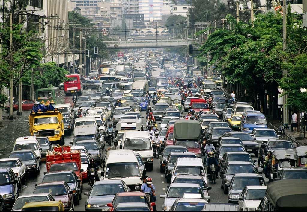 Congestionamento Crédito: Jodi Cobb