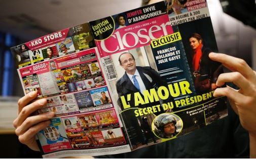 O amor secreto do presidente reportagem bomba da revista Closer