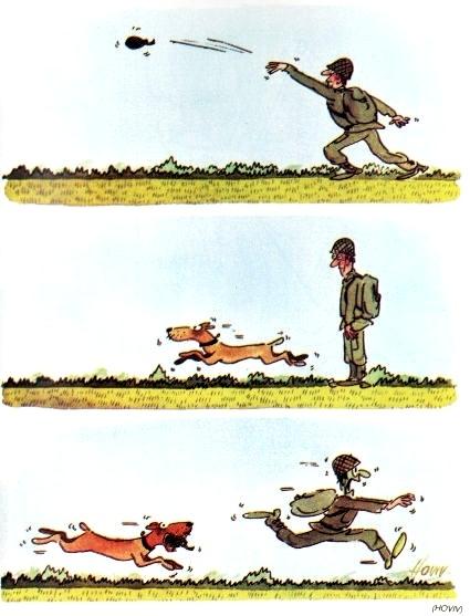 by René Hovivian, desenhista francês