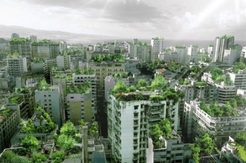 Projeto de jardins suspensos